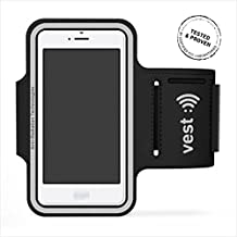 "Vest VST119001 - Brazalete para móviles de 5.5"", color negro"