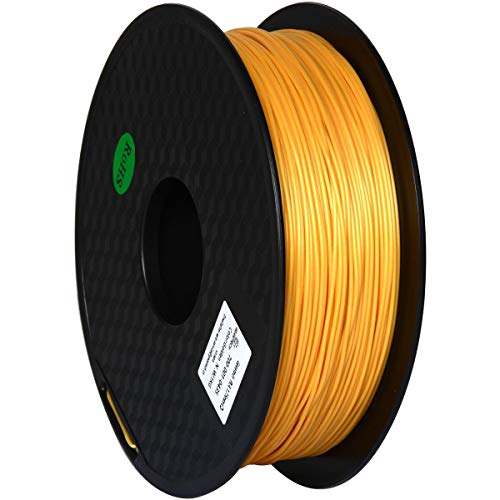 GEEETECH Filament PLA 1.75mm, 3D Drucker PLA Filament 1kg Spool (Gold)