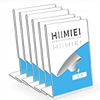 HIIMIEI Desktop Photo Frame, A5,6er Pack