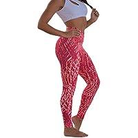 Lunule Mujeres Pantalones Deportivos de Cintura Alta Mallas Fitness Running Entrenamiento Gimnasio Stitching Yoga Pantalones Ajustados Huecos Ejercicio Leggins Deportes para Mujer