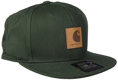 carhartt-unisex-fedora-logo-starter-cap-grun-laurel-one-size