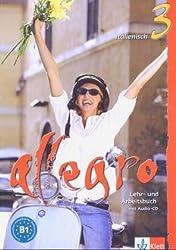 Allegro / Lehr- und Arbeitsbuch mit Audio-CD (B1)