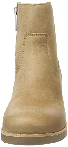 Shabbies Amsterdam Shabbies Stiefelette Mit Reisverschluß, Stivaletti Donna Beige (Light Brown)