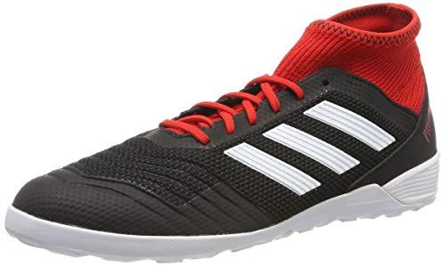 adidas Herren Predator Tango 18.3 Indoor Fußballschuhe, Schwarz (schwarz/weiß/rot schwarz/weiß/rot), 45 1/3 EU