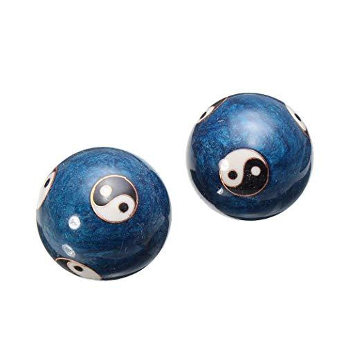 Wilk El estrés de Entrenamiento Puntales Nuevo Chino de Salud esferas Chinas Ejercicio Diario Alivio Terapia Balonmano masajeador balón con la Mano Fuerza Aptitud Bolas