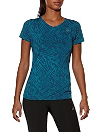 Asics Allover Graphic Women's Course à Pied T-Shirt - AW15