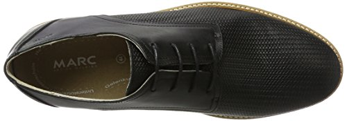 Marc Shoes Dover, Scarpe Stringate Uomo nero (nero)