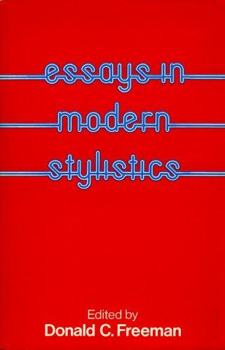 Essays in Modern Stylistics