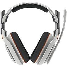 ASTRO Gaming A40 Binaurale Diadema Gris auricular con micrófono - Auriculares con micrófono (PC/Juegos, Binaurale, Diadema, Gris, Alámbrico, Circumaural)