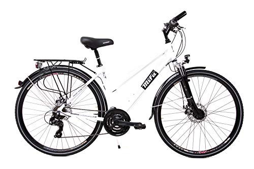 28 Zoll Alu SACHSENRING Damen Trekking Fahrrad Shimano 21 Gang Nabendynamo Disc