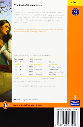 Penguin Readers 2: Last of The Mohicans, The Book & MP3 Pack (Penguin Readers (Graded Readers))