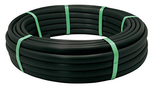 Aqua Control C4352 Pack de 5 Tuberías con Goteros Integrados, Negro, 2500x3x3 cm