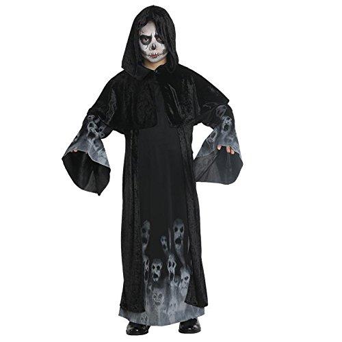 senes Seelenkind Junge Gr. 128 - 164 Halloween Geist Gespenst Fasching Karneval 152 (Vergessene Seelen Kostüme)