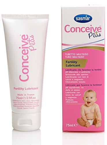 SASMAR Conceive Plus Lubrifiant de Fertilité 75 ml