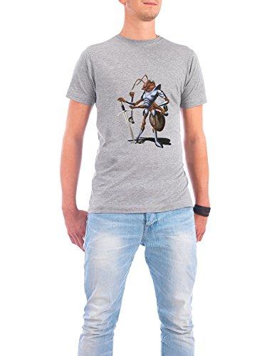 """Design T-Shirt Männer Continental Cotton """"Soldiering On (wordless)"""" - stylisches Shirt Tiere Natur von Rob Snow Grau"""