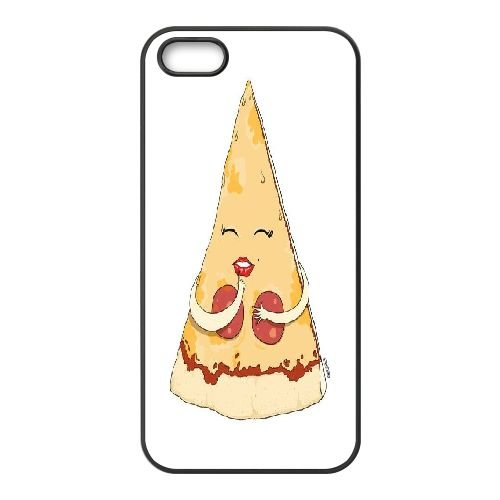 PIZZA iPhone 5,iPhone 5s Cover, Sabcase PIZZA Personalized Phone Case for iPhone 5,iPhone 5s (Case Pizza Iphone Phone 5)