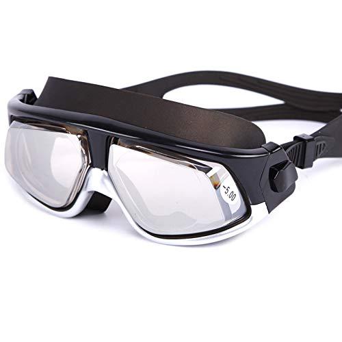 Rentlooncn Anti-Fog-UV-Schutz Dioptrien Schwimmbrille wasserdichte Schwimmbrille für Erwachsene Männer Frauen Schwimmbrille in Poolbrille Eyewear05
