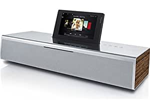 Loewe SoundVision Wireless Audio System with CD/Internet Radio/FM and iPod/iPhone Dock - Aluminium/Silver
