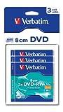 Verbatim DVD-RW Rohlinge, 2x, 1.46GB, kratzfest