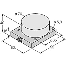 1602406–Ni40de cq80de L1131/S1102, sensor inductivo con venecianas. Rango de temperatura