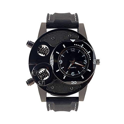 JM- Armbanduhr, modisch, Herren-Silikonarmband, für Freizeit, Business-Armbanduhr, luxuriös, modisch, sportlich, für Jugendliche