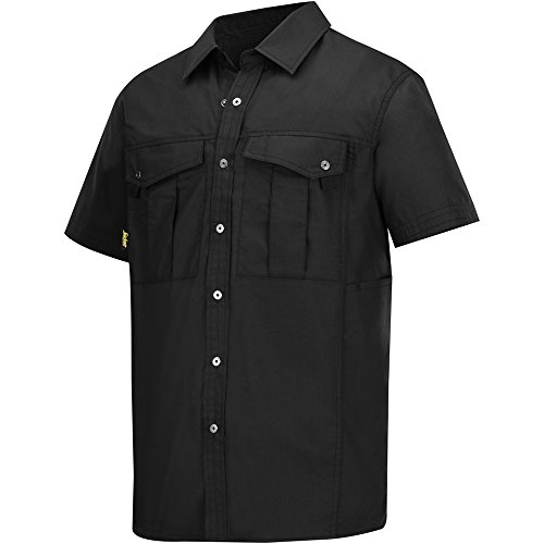 SNICKERS WORKWEAR 8506 - CAMISA  COLOR NEGRO  TALLA 5