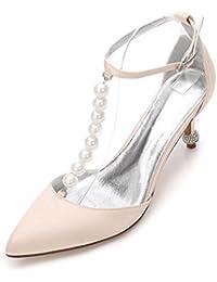 Elegant high shoes Scarpe da Cerimonia da Donna Plateau Scarpe Décolleté  Stiletto Basso Mid Gattino Tacco a87a8eac6d8