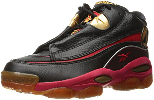 Reebok The Answer Dmx 10 Herren Schwarz Basketball Schuhe Neu/Display EU 40,5