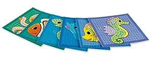Play maíz 160200-Card Set Mosaic Little Sea, Juego de Manualidades