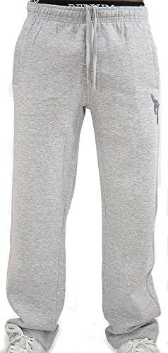 REDRUM Jogginghose Casual Streetwear Modell Bronx (Grau/Anthrazit, Größe XL)