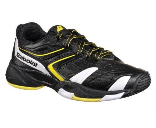 BABOLAT Drive 3 All Court Scarpa da Tennis Junior Nero/Giallo