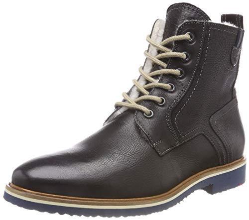 LLOYD Herren FEDAN Combat Boots, (Schwarz 0), 45 ()