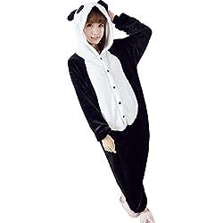 UDreamTime Fiesta de disfraces de Halloween Pijamas Kigurumi Cosplay Pijamas Panda M