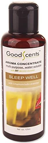 Good Scents Sleep Well Aroma Concentrate for Humidifiers and Air Revitalizer 125ml