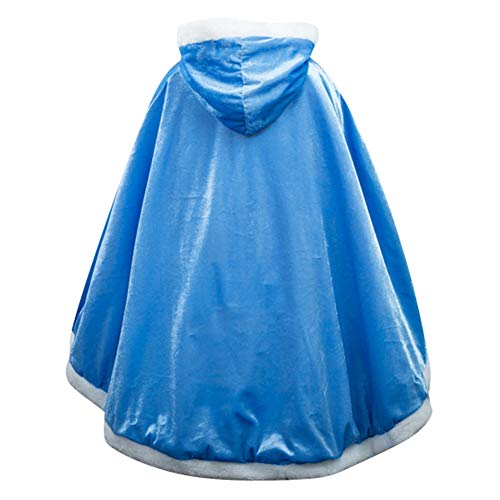Le SSara Langarm Mädchen Prinzessin Cosplay Kostüme Fancy Schmetterling Kleid (150, PJ-Blue) (Blue Baby Halloween-spiel)