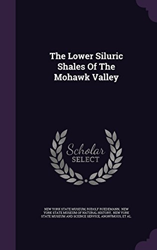 The Lower Siluric Shales Of The Mohawk Valley