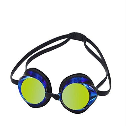 Erwachsene Schwimmbrille - Rennen Brille zum Mädchen Jungen Wasserdicht Antifog-Spiegelung...