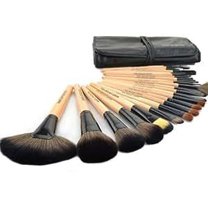 XCSOURCE 24 Stück Pro Make Up Make Up Bürsten Pinsel Kosmetischer Kosmetik Augenbrauen Schatten Blush Foundation Concealer Pinsel Puder-Werkzeug-Satz mit Tasche MT74