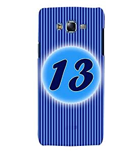Fuson 3D Printed Numerology Designer back case cover for Samsung Galaxy J7 - D4231