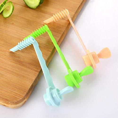 Gemüsespiralisator Carving Tools Rotierende Maschine Manuelle Roller Spiralschneider Cutter für Rettich Kartoffelgemüse
