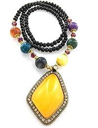 Puffer Collection–Damen-Fashion Nation Geometrische Noble Halskette