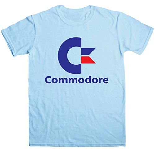 Commodore 64 Logo 80s Computer T-shirt for Men
