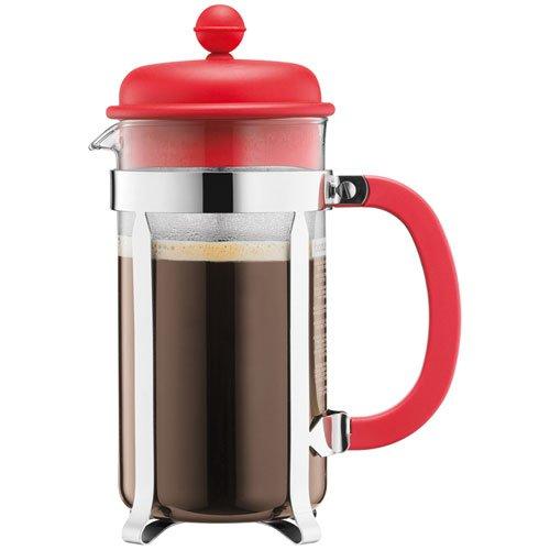 Bodum - 1918-294 - 1918-294 - Cafetera 8 tazas - 1,0 l - color rojo