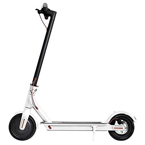 E-Scooter MF365, 350 Watt E-Motor, 36V/8Ah-Akku, 25 km/h, 26 Kilometer Reichweite, Elektroroller, E-Roller E-Tretroller, weiß