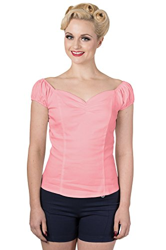 Dancing Days -  T-shirt - Basic - Donna Dunkles Lachsfarben 60