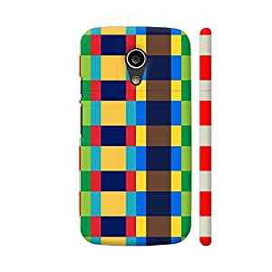 Colorpur Moto G2 Cover - Multi Colored Pixel Box Case