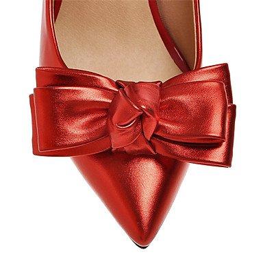 Da donna / Per bambina-Tacchi-Matrimonio / Formale / Serata e festa-Tacchi / Modelli / A punta-A stiletto-Finta pelle-Nero / Rosa / Rosso Red