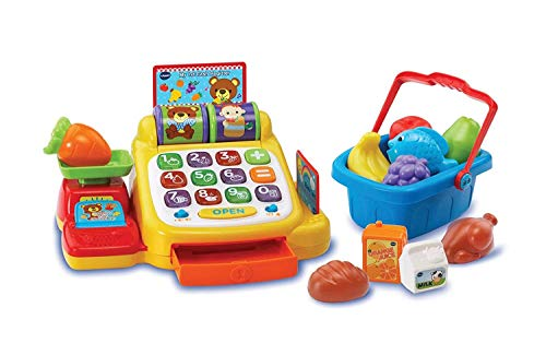 VTech My First Cash Register With Food Basket Toy