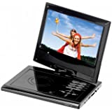 Supersonic SC-178DVD 7 Portable DVD Player With USB SD Card Slot & Swivel Display Supersonic SC-17