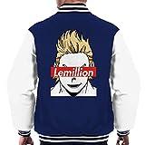 Cloud City 7 Lemillion Skate Brand My Hero Academia Men's Varsity Jacket